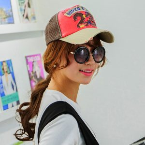 2016-New-Fashion-Teen-Girls-Adjustable-Snapback-Mesh-Trucker-Baseball-Cap-Hat-Caps-Hats-Multicolors